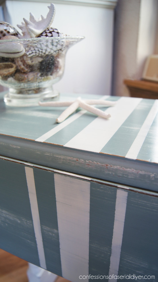 Perfect stripes using FrogTape!