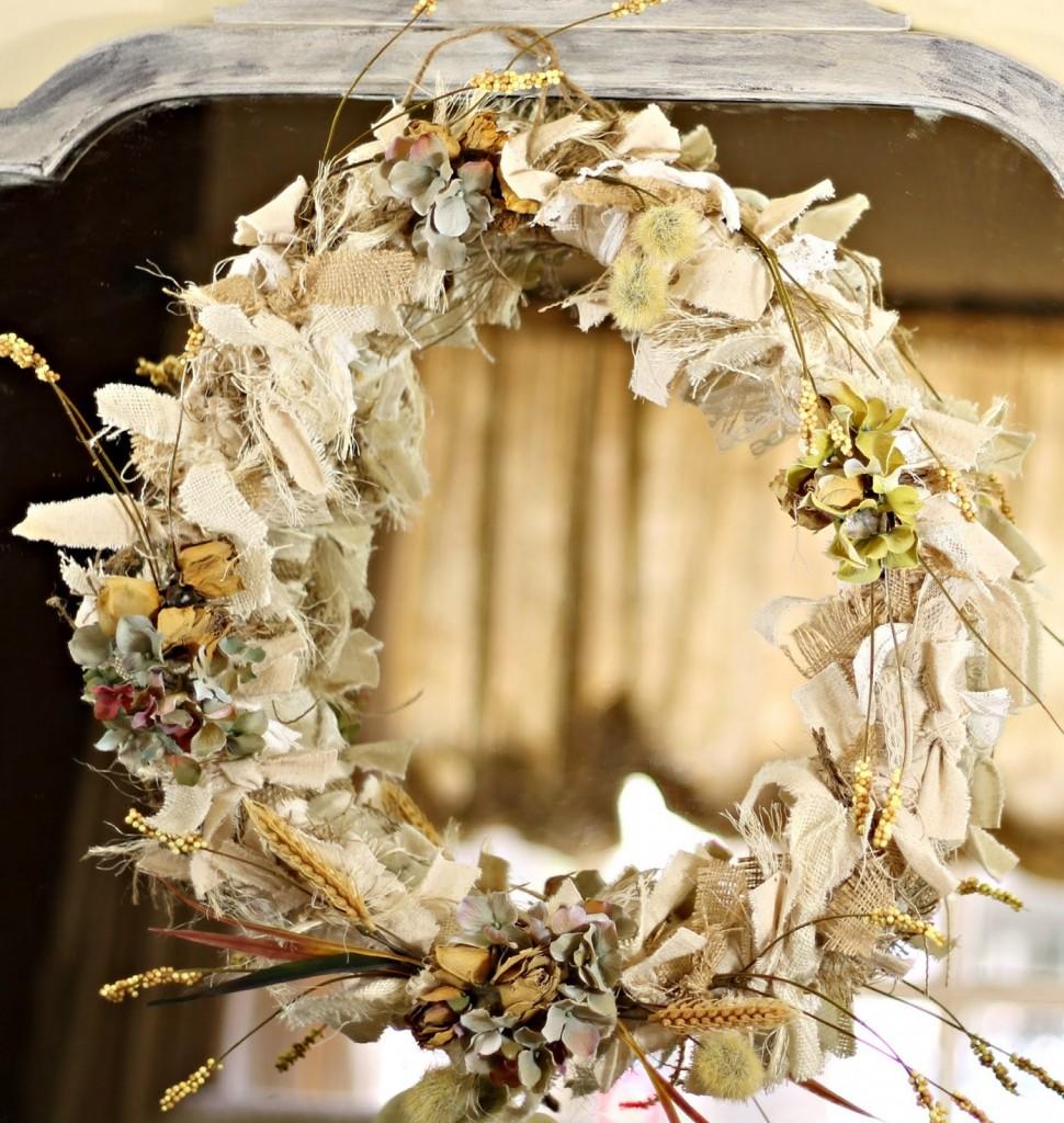Romantic Fall Wreath