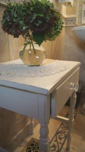 Omi's Table Makeover