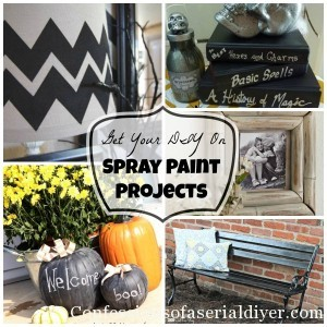 Get Your DIY on: Spray Paint Projects {& Features!}