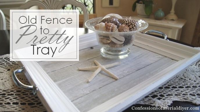 picket fence tray