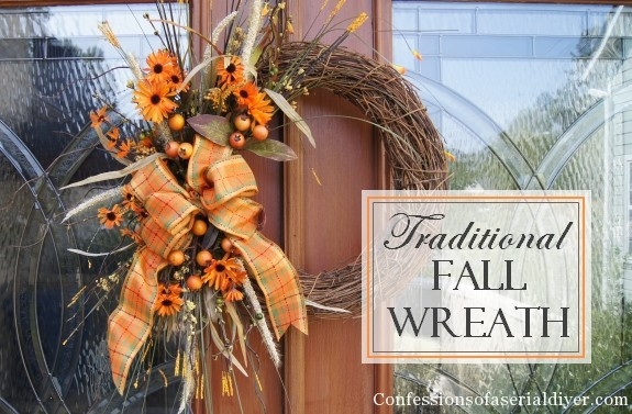 Fall Wreath Confessions Of A Serial Do It Yourselfer