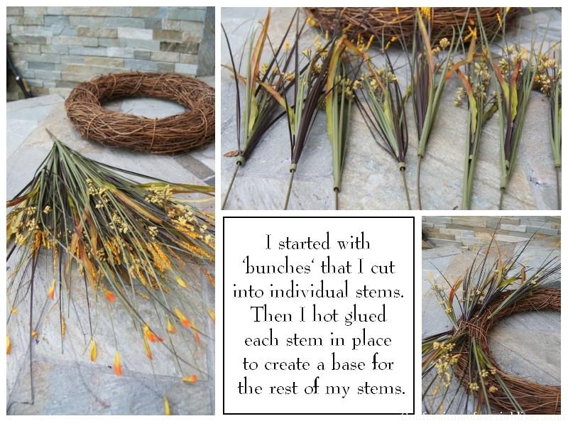 how to make a fall wreath