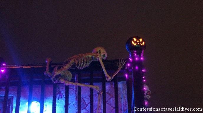 Outdoor Halloween Display