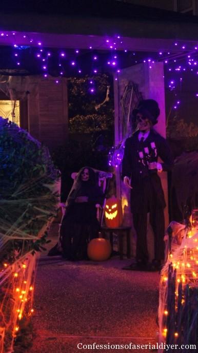 Outdoor Halloween Display