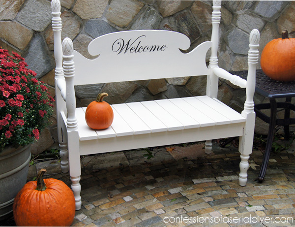 How To Build A Headboard Bench From Confessions Of A Serial Do It Yourselfer