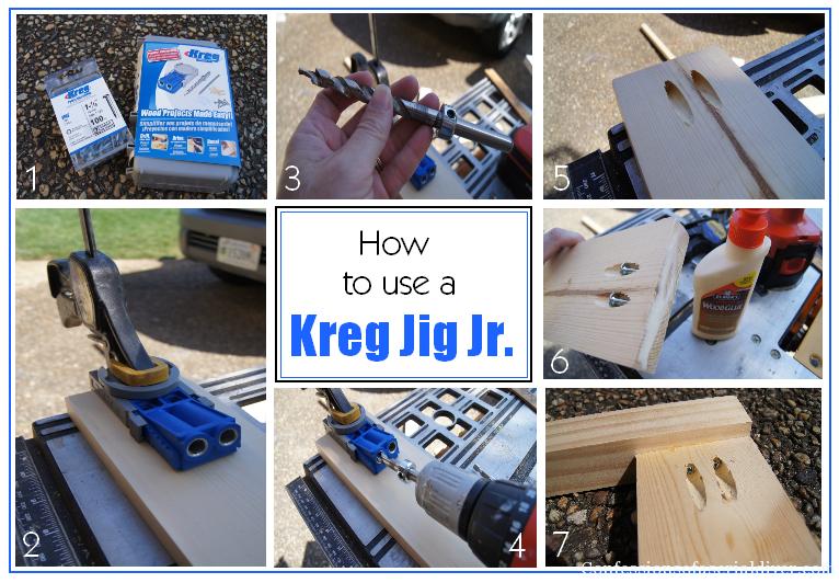 How to use a Kreg Jig Jr.