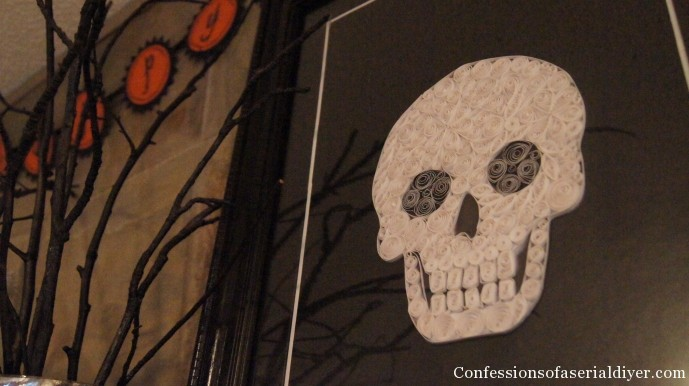 quilled skull