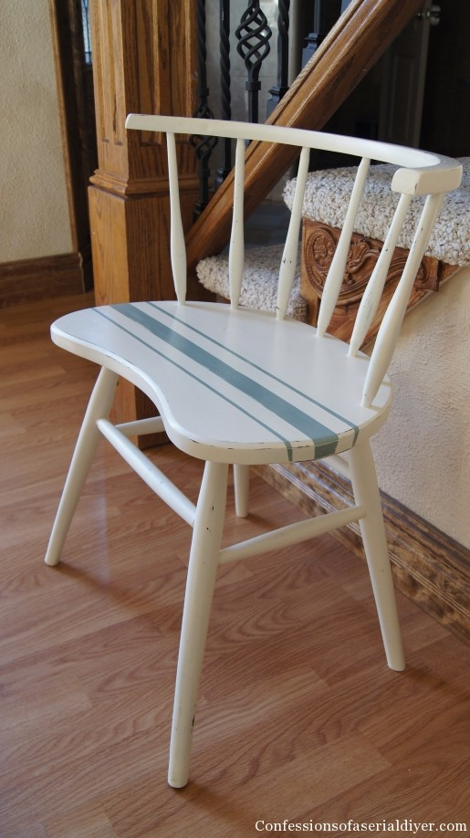 Grain sack chair