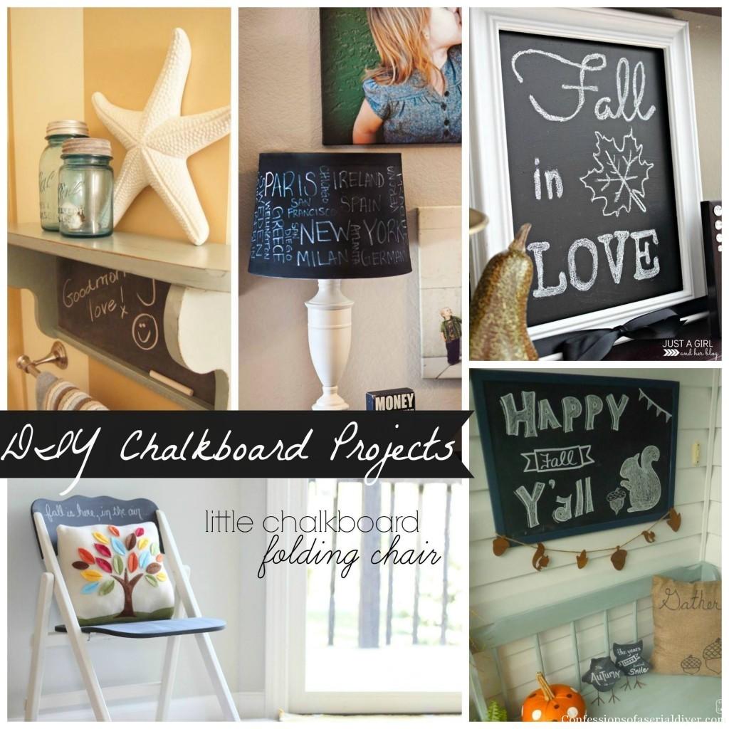 Chalkboard projects
