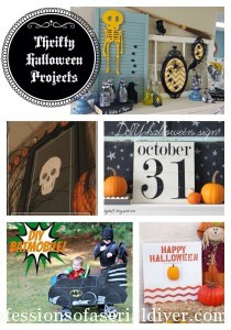 Get Your DIY on: Thrifty Halloween Projects {& features!}