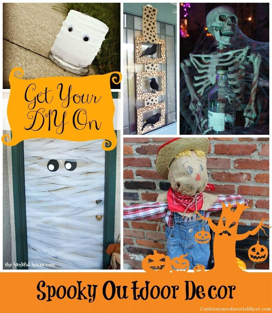 Spooky Outdoor Decor