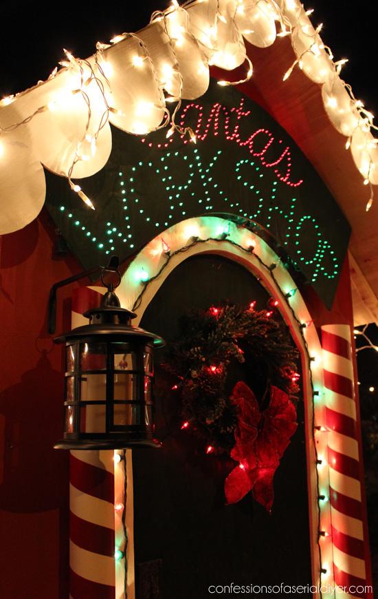 DIY Illuminated Sign from confessionsofaserialdiyer.com