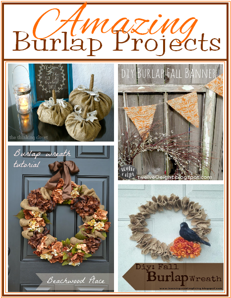 Burlap Project Ideas