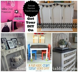 Get Your DIY on: Furniture Revivals {& Features!}