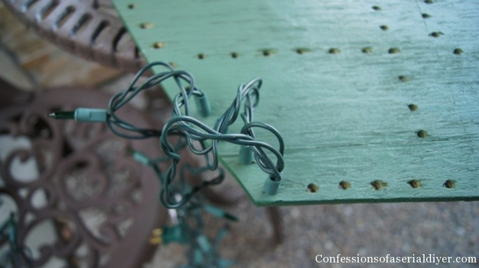 Christmas Lighted Sign.How To Make An Illuminated Holiday Sign Confessions Of A