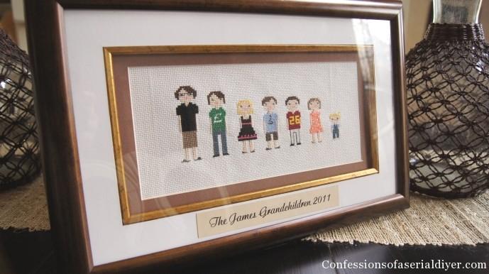 Cross-Stitch People- Fun Gift Idea!