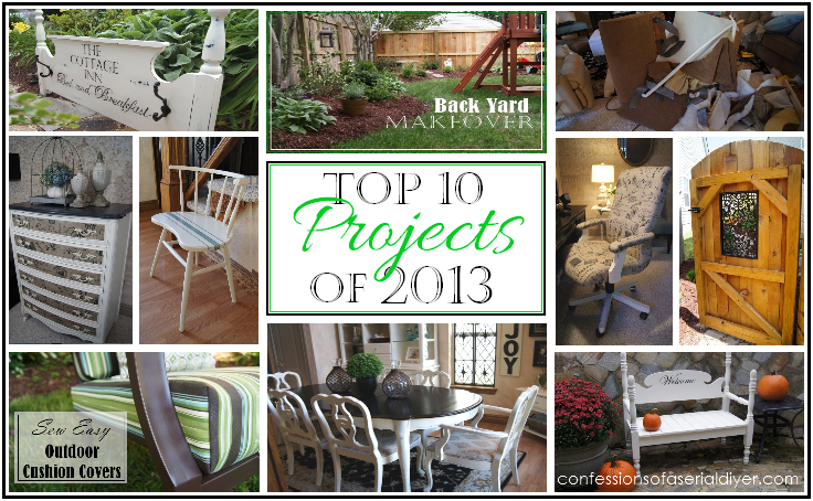 Top 10 Projects of 2013 Confessions of a Serial Do-it-Yourselfer