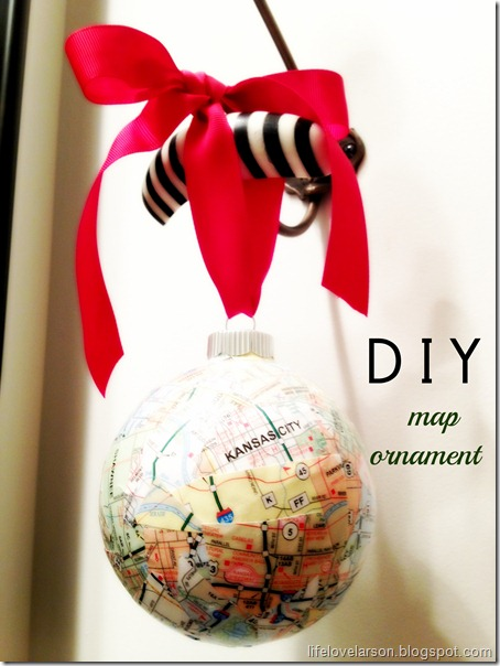 Map Ornament
