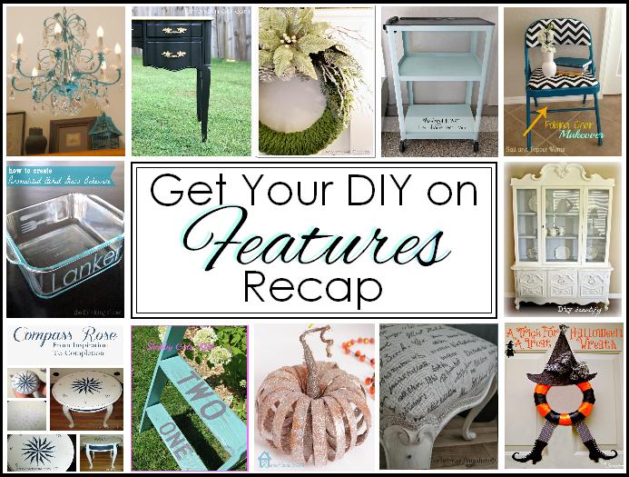 Get Your DIY on Features Recap