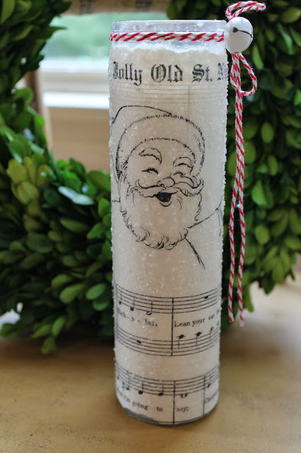Sheet Music Candles by Elizabeth & Company