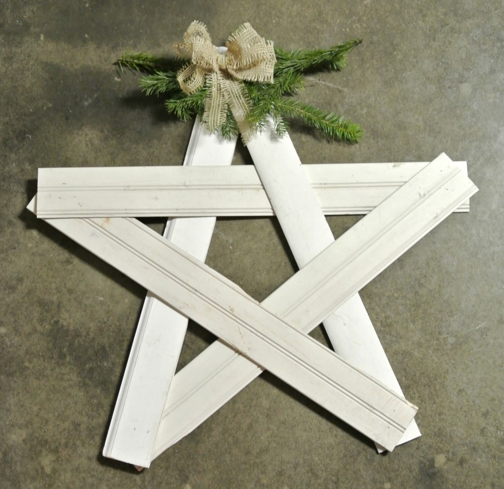 Reclaimed Star from Bohemian Junktion