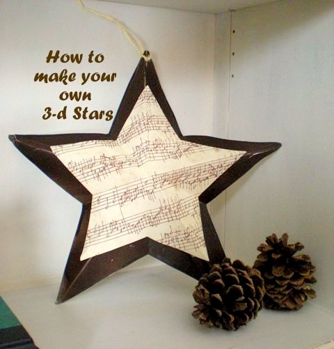 3D Stars by Design Dreams by Anne
