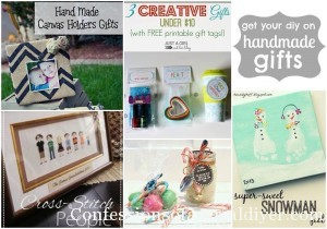 Get Your DIY on: Handmade Gifts {& Features!}