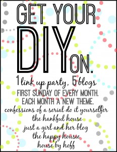 Get Your DIY on January: Organization