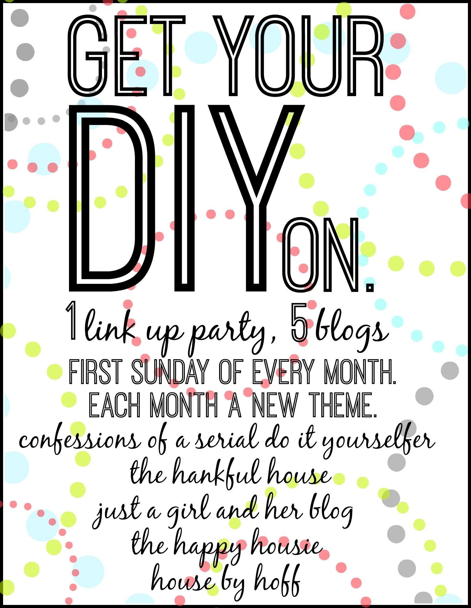 Get Your DIY on Graphic