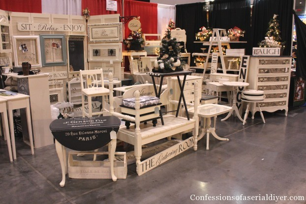 Craft Booth Set-up