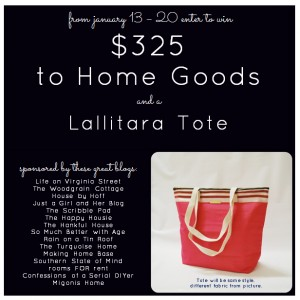 A Home Goods Giveaway!