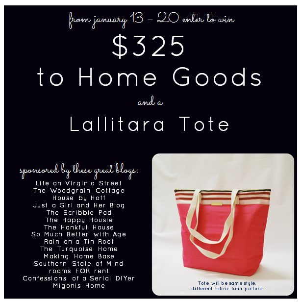 Home Goods Giveaway