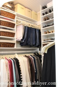 Master Closet Makeover (Part 1)