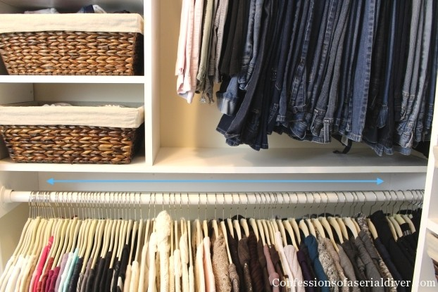 How a Girl Built her Closet
