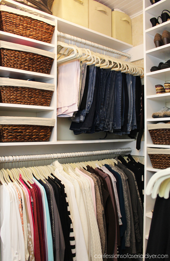 Master Closet Makeover By Confessions Of A Serial Do It Yourselfer