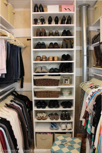 Master Closet Makeover by Confessions of a Serial Do-it-Yourselfer