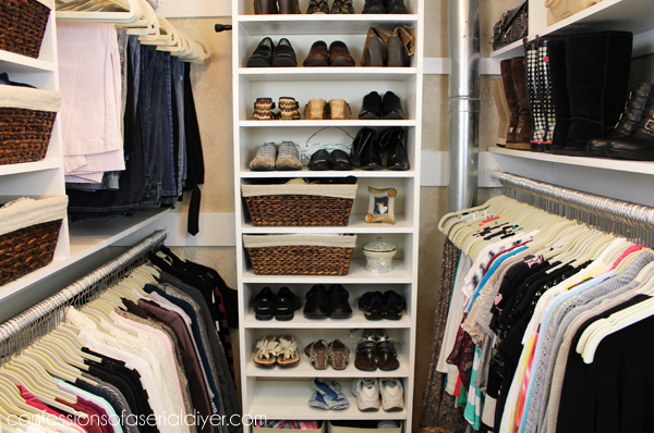 Merveilleux Master Closet Makeover By Confessions Of A Serial Do It Yourselfer