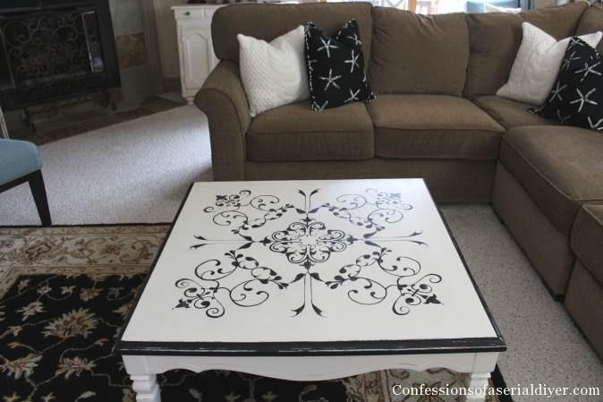 Vintage Tile-Inspired Table 12