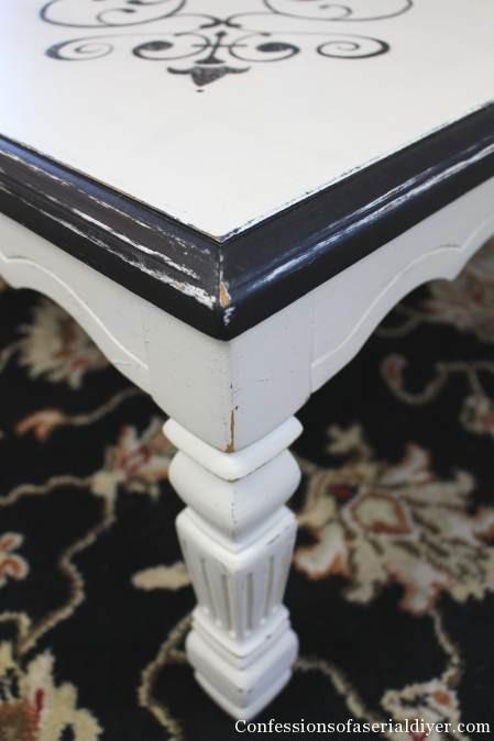 Vintage Tile Inspired Table 6