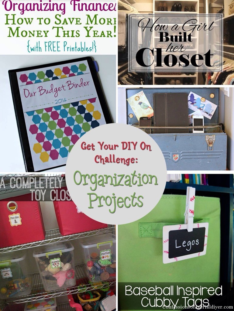 Get Your DIY on:Organization