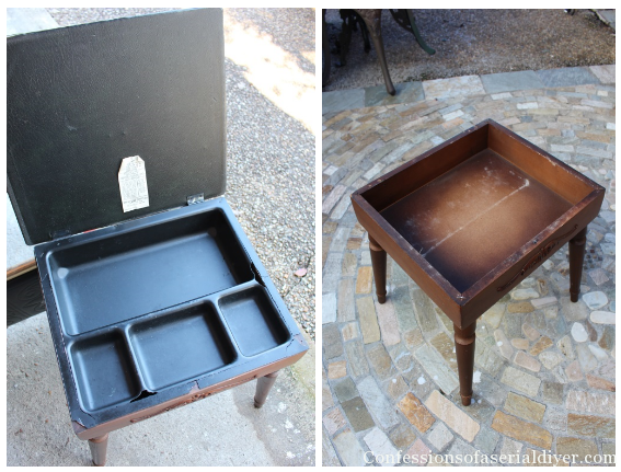 A Sweet Stool for Her from a Men's Standing Valet