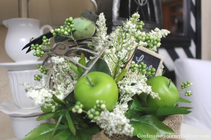 DIY Spring Birdhouse Arrangement 22