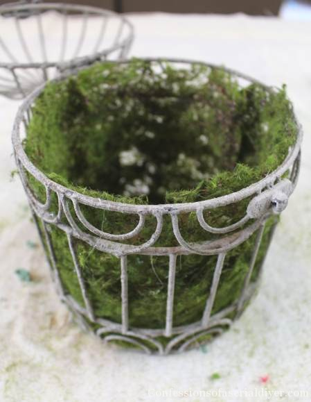 DIY Spring Birdhouse Arrangement 4