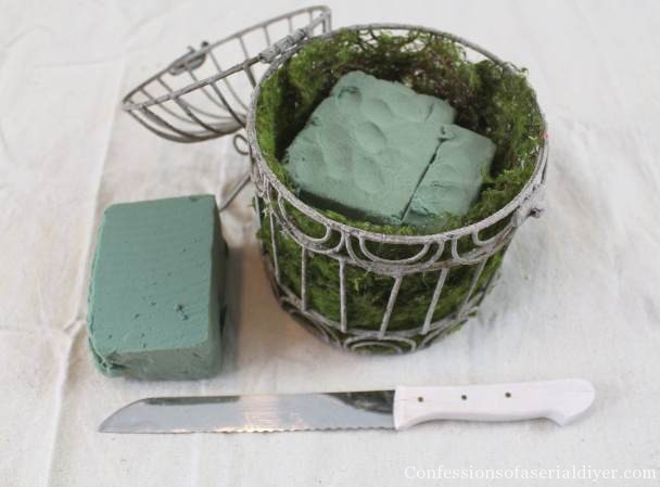 DIY Spring Birdhouse Arrangement 6