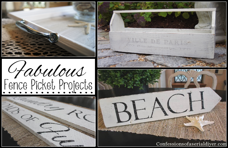 Fabulous Fence Picket Projects (most were free!)