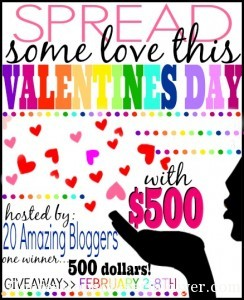 Spread the Love: $500 Giveaway!!