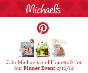 Hometalk-Michaels Party Promo graphic