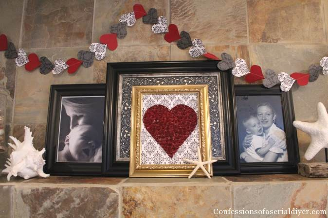 Easy and Inexpensive Valentine's Decor