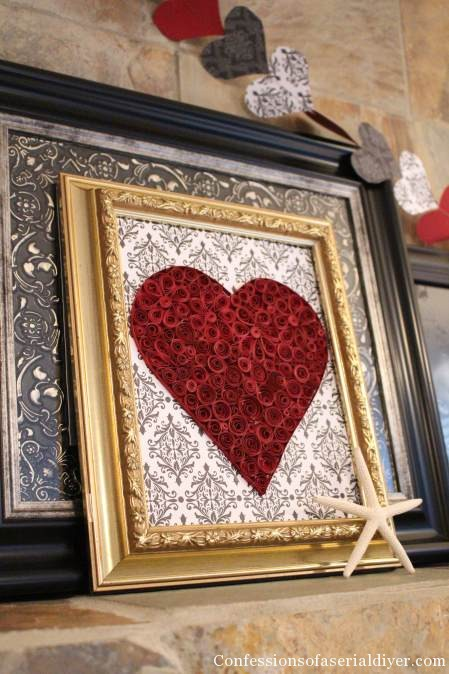 Easy and Cheap Valentine's Decor